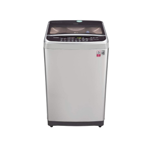LG 8.0 kg Inverter Fully-Automatic Top Loading Washing Machine (T9077NEDL1, Free Silver)
