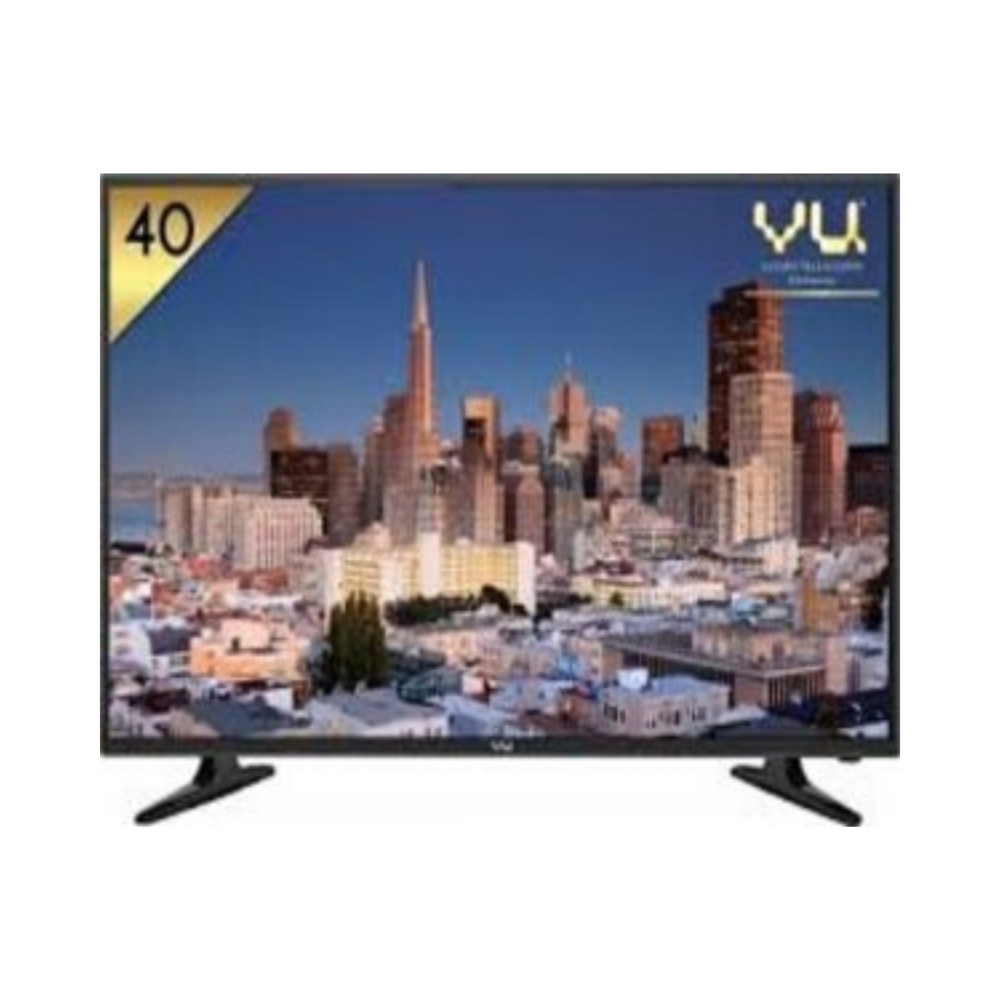 VU 102 cm (40 Inches) Full HD LED TV VU40D6575 (Black)