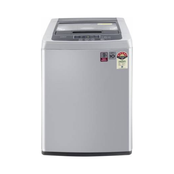 LG 6.5 kg 5 Star Inverter Fully Automatic Top Load Silver  (T65SKSF4Z)