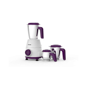 PHILIPS Daily Collection HL7505/00 Mixer Grinder, 500W (White)