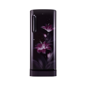 LG 235 L 4 Star Inverter Direct Cool Single Door Refrigerator (GL-D241APGY, Purple Glow