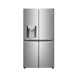 LG 889 L Inverter Linear Door-in-Door Side by Side Refrigerator (GR-J31FTUHL, Saffiano, Multi Air Flow Cooling)