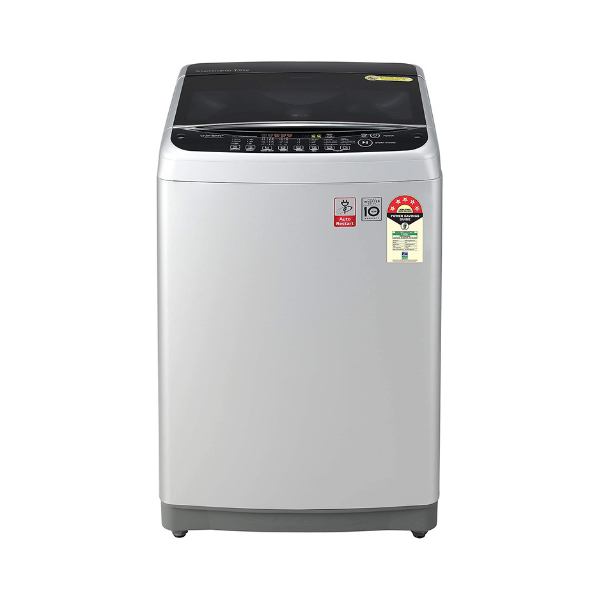 LG 7.0 Kg Inverter Fully-Automatic 5 Star Top Loading Washing Machine (T70SJFS1Z, Free Silver)
