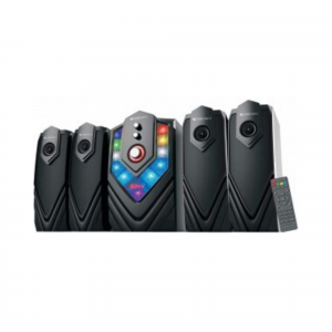 Zebronics Zeb-Samba 4.1 Multimedia Speaker with USB Input, SD MMC Input and AUX Connectivity