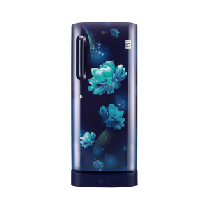 LG 235 L 4 Star Inverter Direct-Cool Single Door Refrigerator (GL-D241ABCY, Blue Charm)