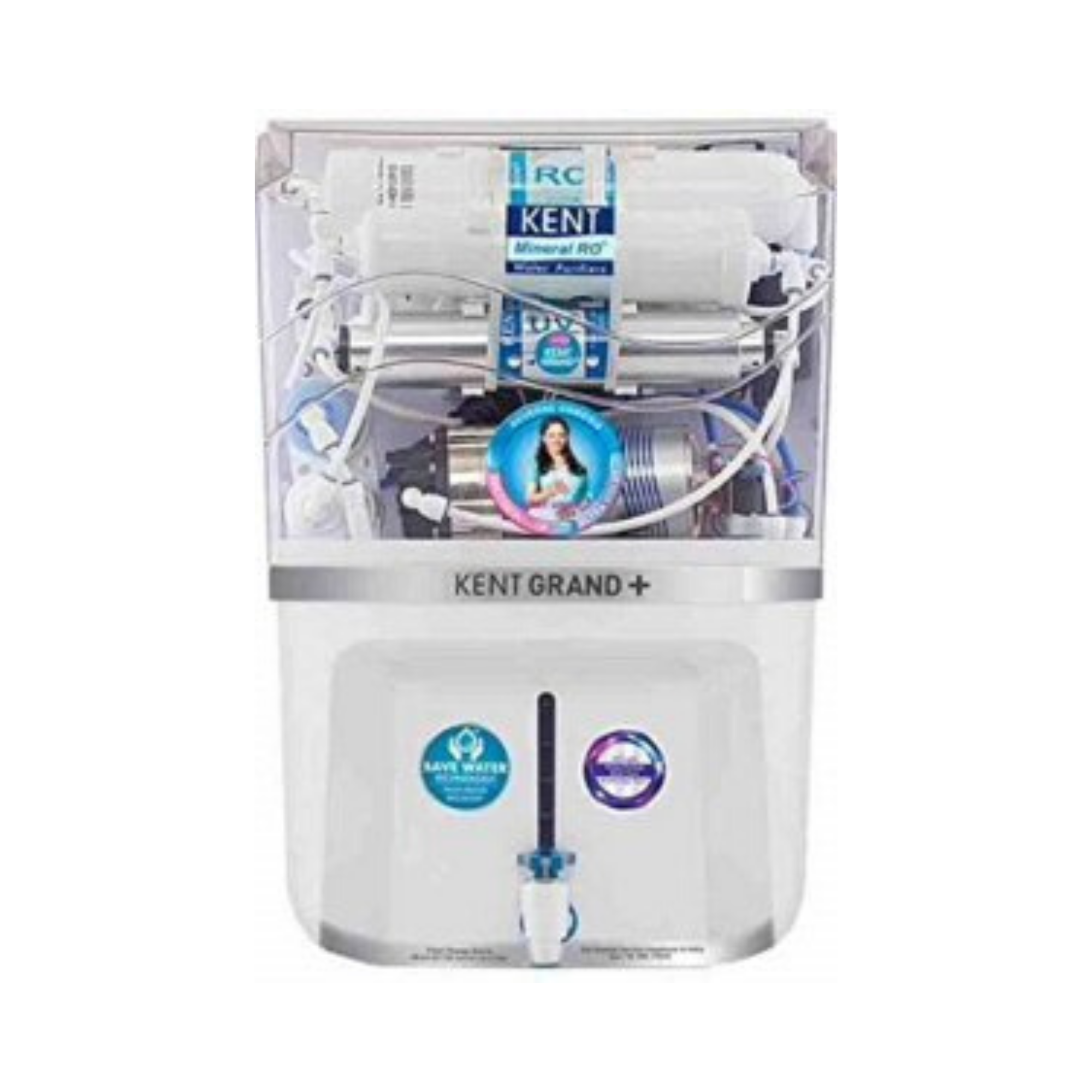 Kent New Grand Plus Mineral RO + UV + UF + TDS Water Purifier