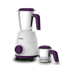 PHILIPS HL7506/00 Mixer Grinder, 500W, 2 Jars (Purple)