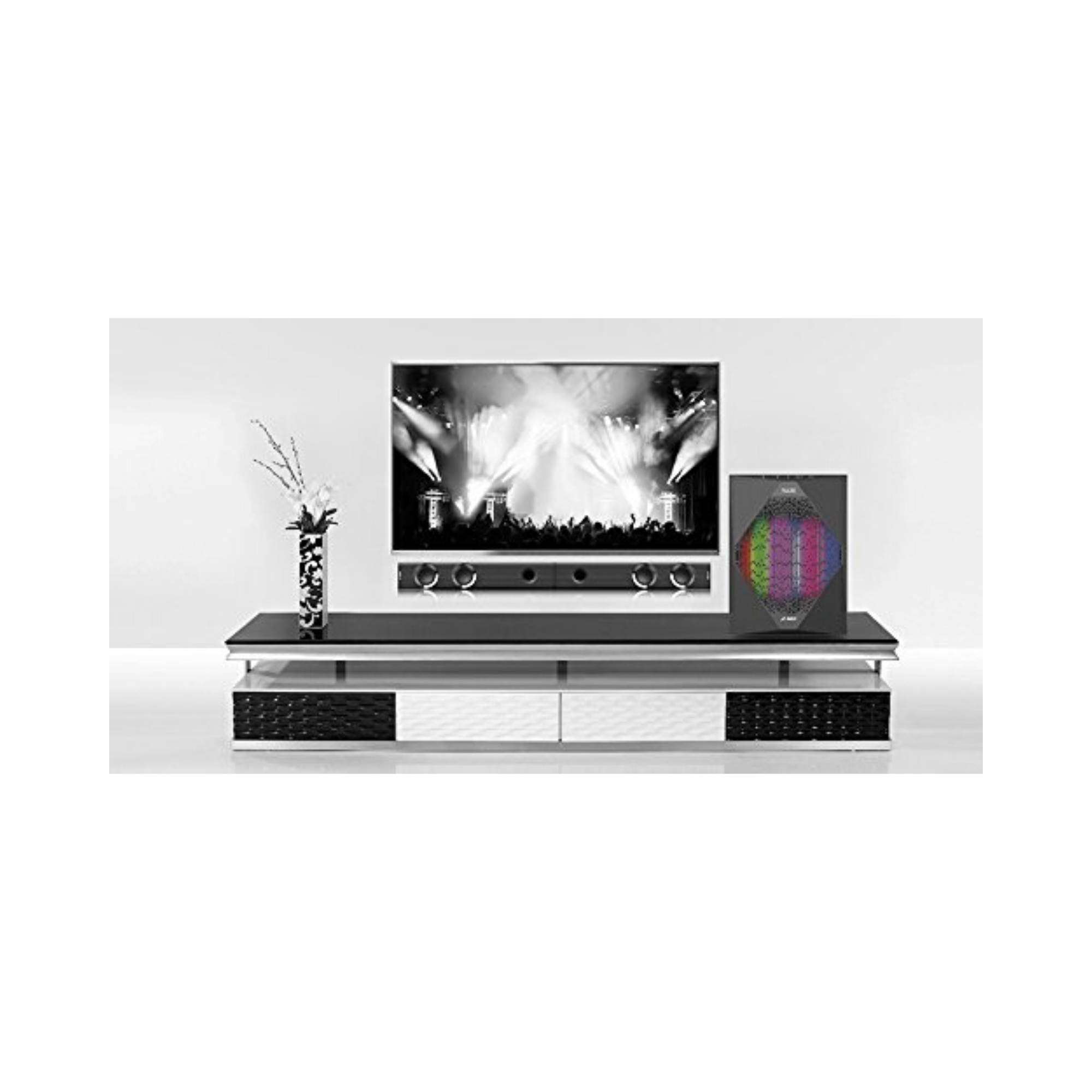 F&D T300X Covertible Sound Bar with Subwoofer (Black)